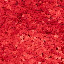 Polyester 8 Oz Red Heart Glitter Polyethyleneester - Embellishments by Paper Mart
