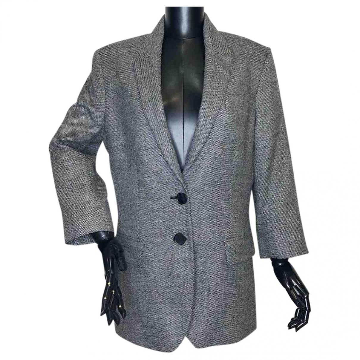 Rochas - Veste   pour femme en laine - gris
