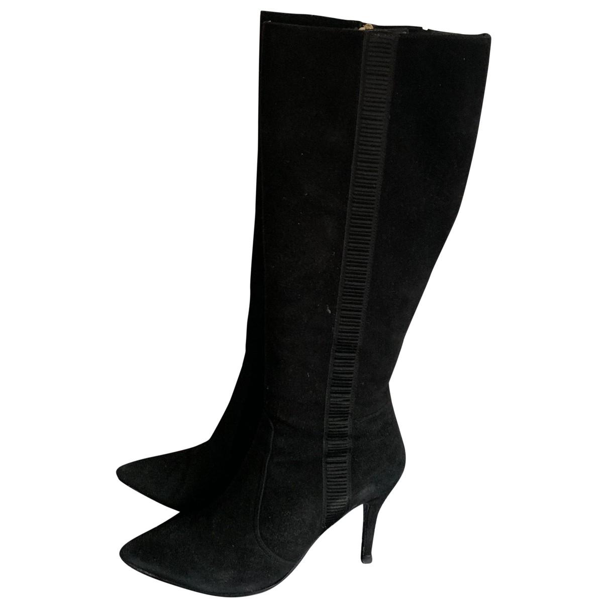 Lk Bennett \N Black Leather Boots for Women 40 EU