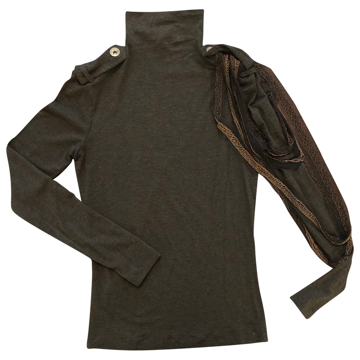 Plein Sud \N Khaki Cotton Knitwear for Women 36 FR