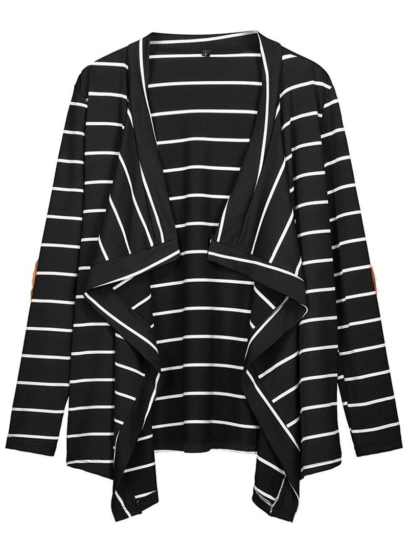 Ericdress Loose Travel Look Stripe Knitwear