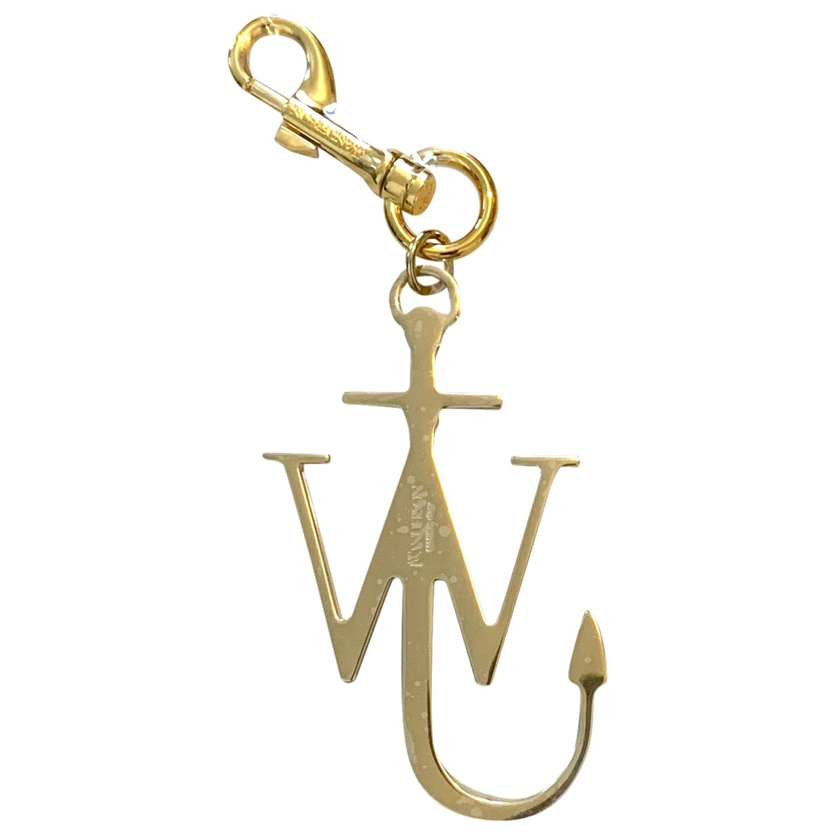 J.w. Anderson \N Taschenschmuck in  Gold Metall