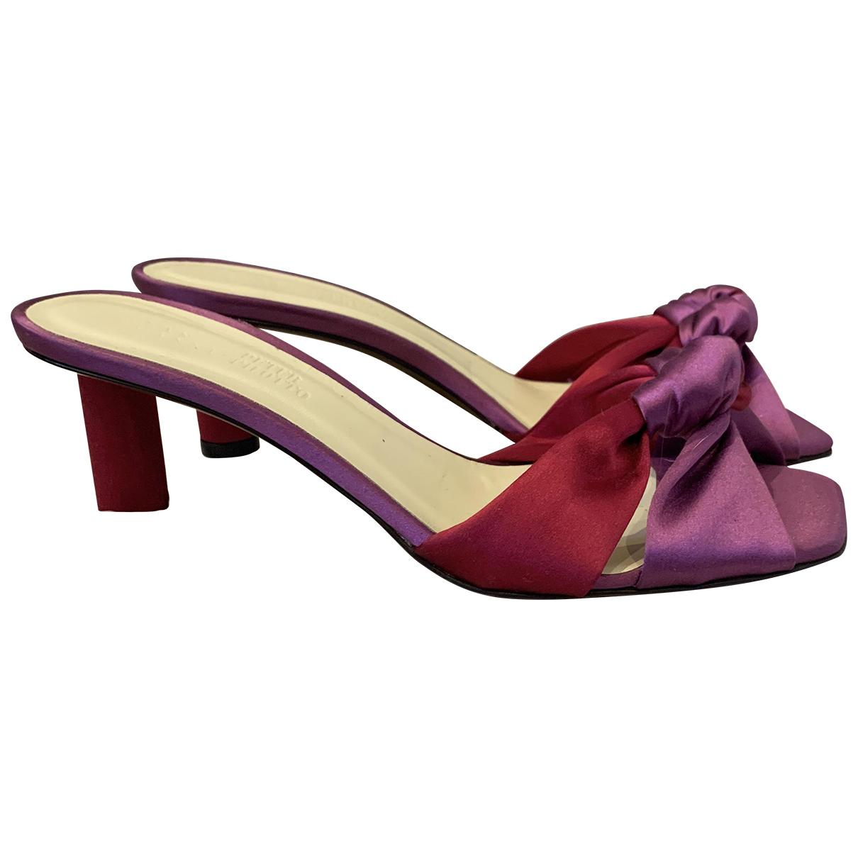 Peter Pilotto - Sandales   pour femme en toile - rose
