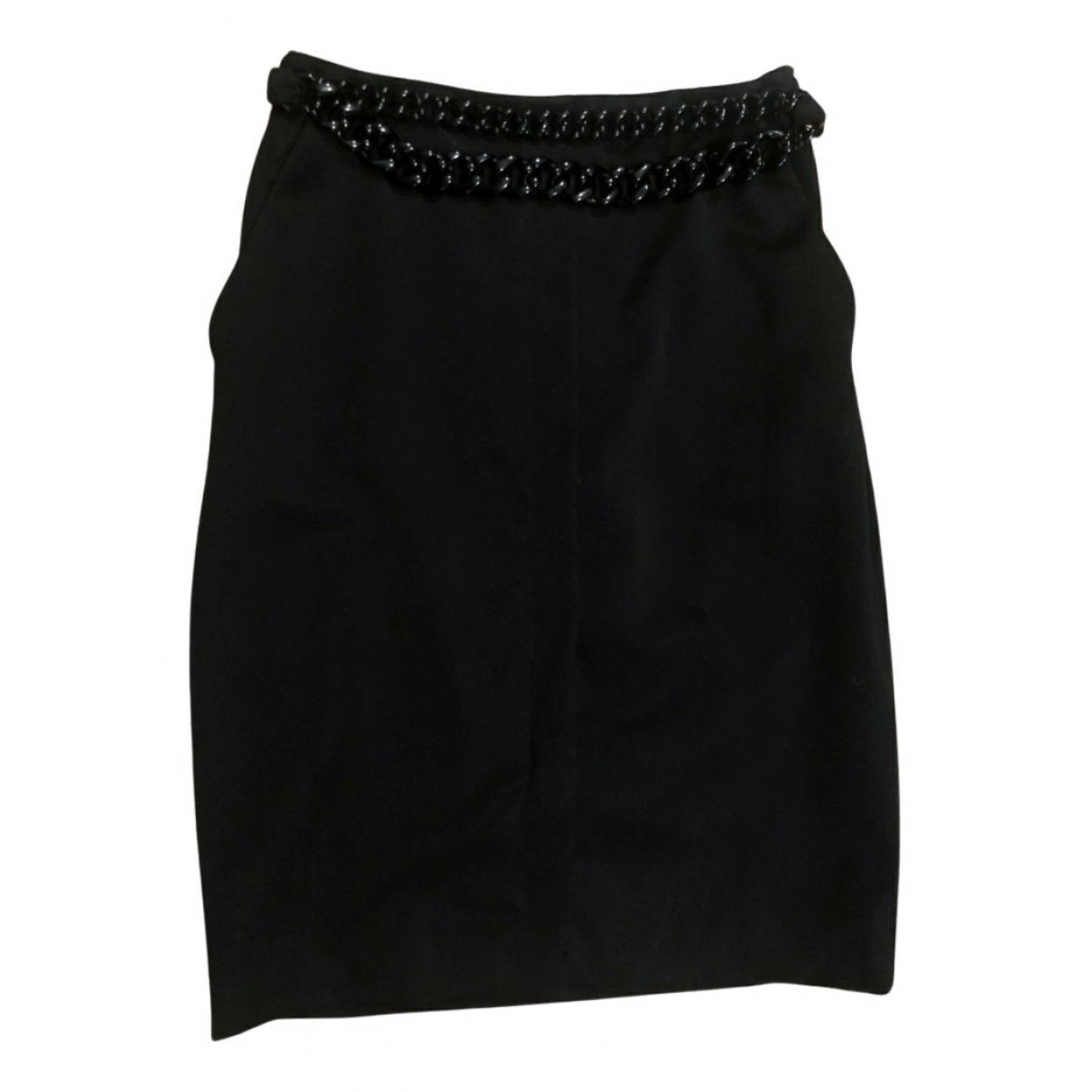 Versace - Jupe   pour femme en coton - noir