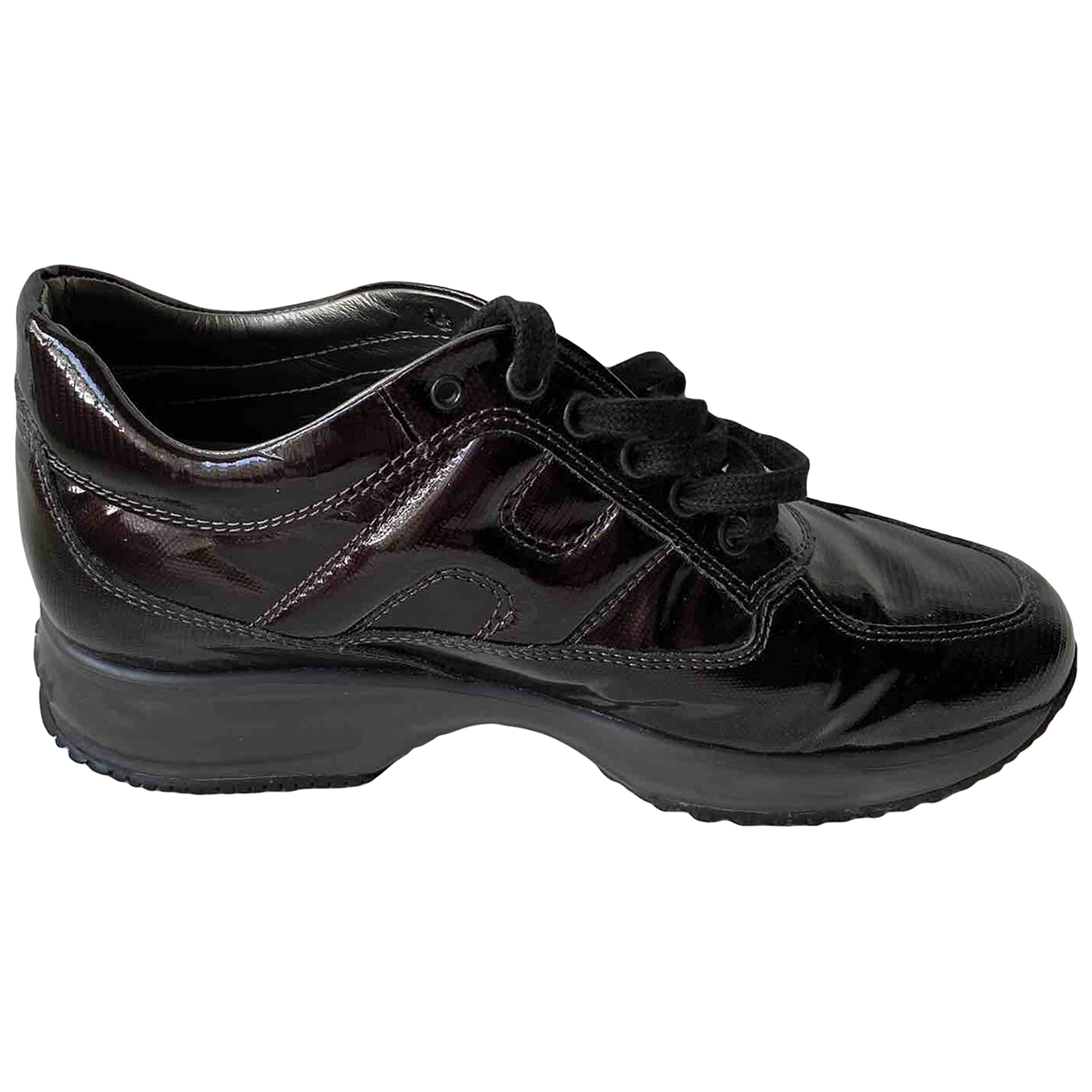 Hogan \N Patent leather Trainers for Women 39.5 EU