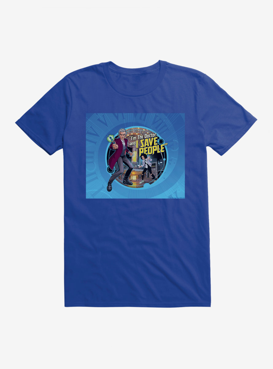 Doctor Who Twelfth Doctor I Save People T-Shirt