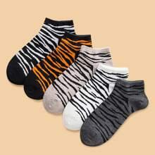 5pairs Graphic Socks