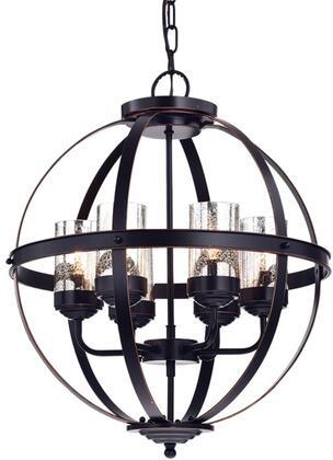 320363 Gildard Oil Rubbed Bronze Globe Pendant in