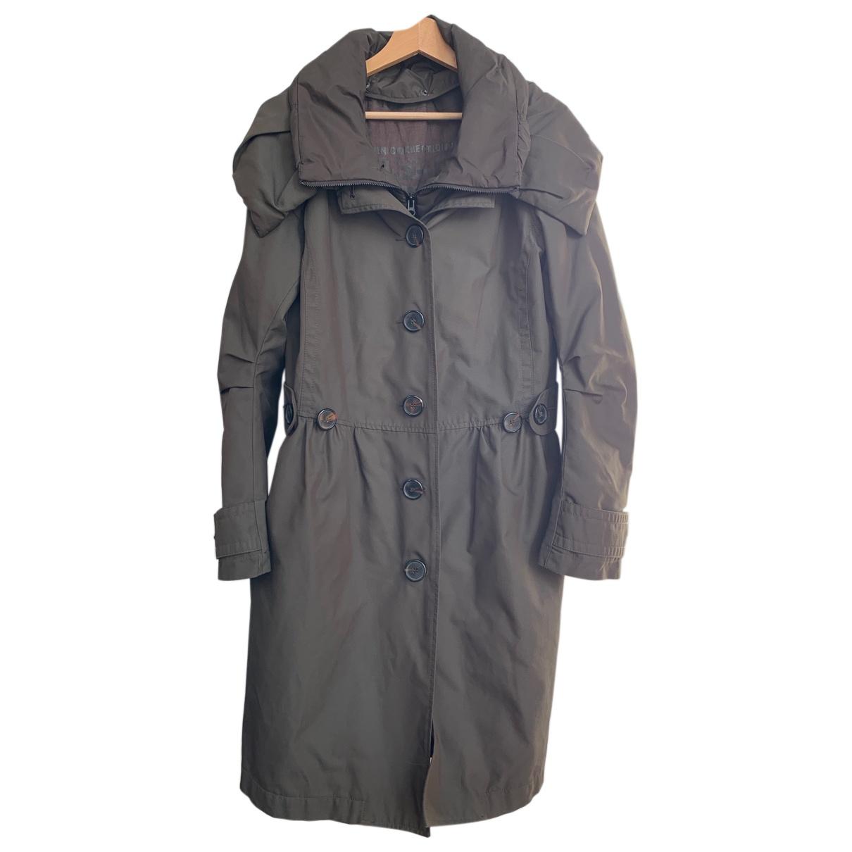 Ikks - Manteau   pour femme - kaki