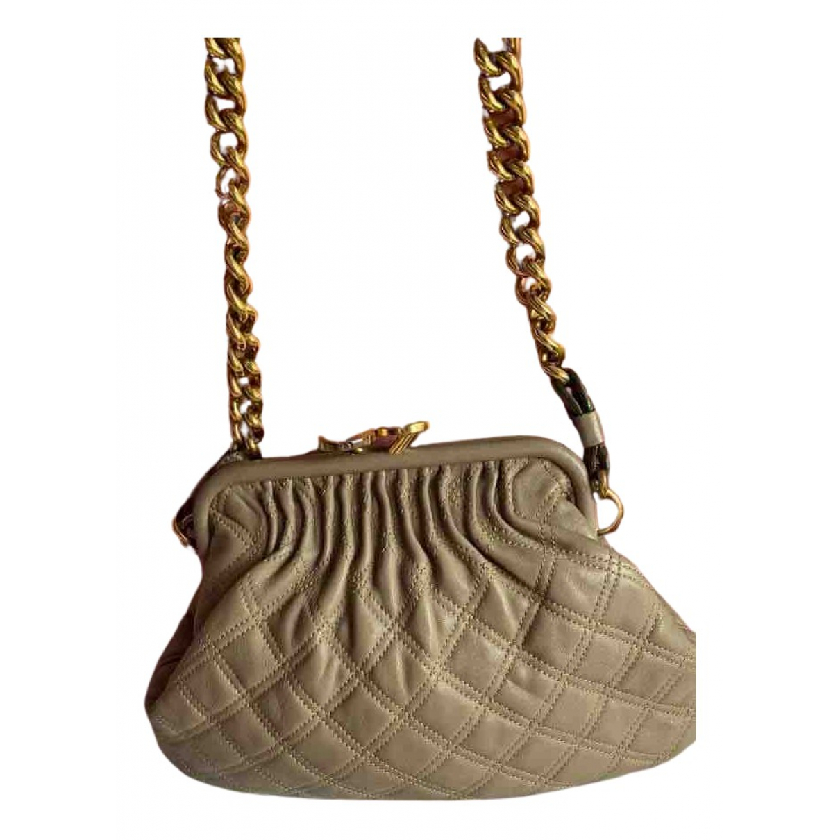 Marc Jacobs Stam Beige Leather handbag for Women \N