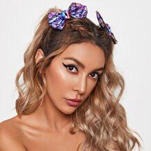 6 Stuecke Haarspangen mit Halloween Design