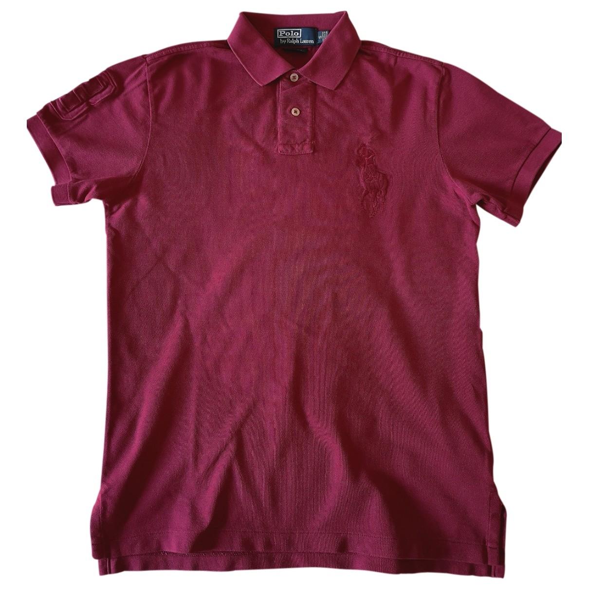 Polo Ralph Lauren - Polos Polo ajuste manches courtes pour homme en coton - rose
