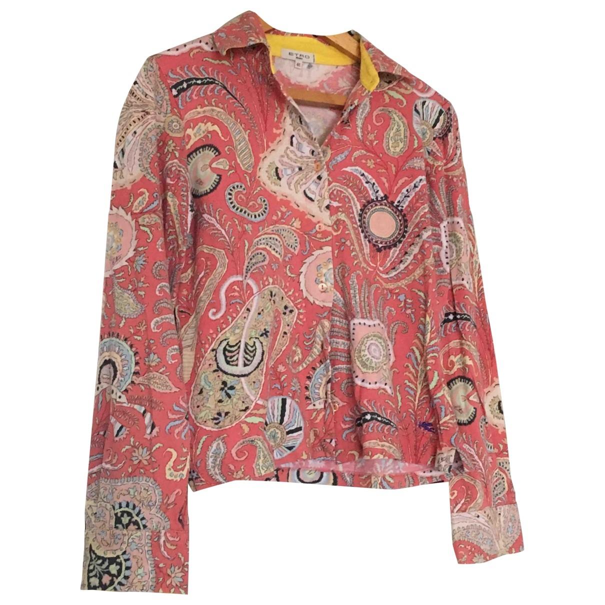 Etro \N Multicolour Cotton  top for Women 46 IT