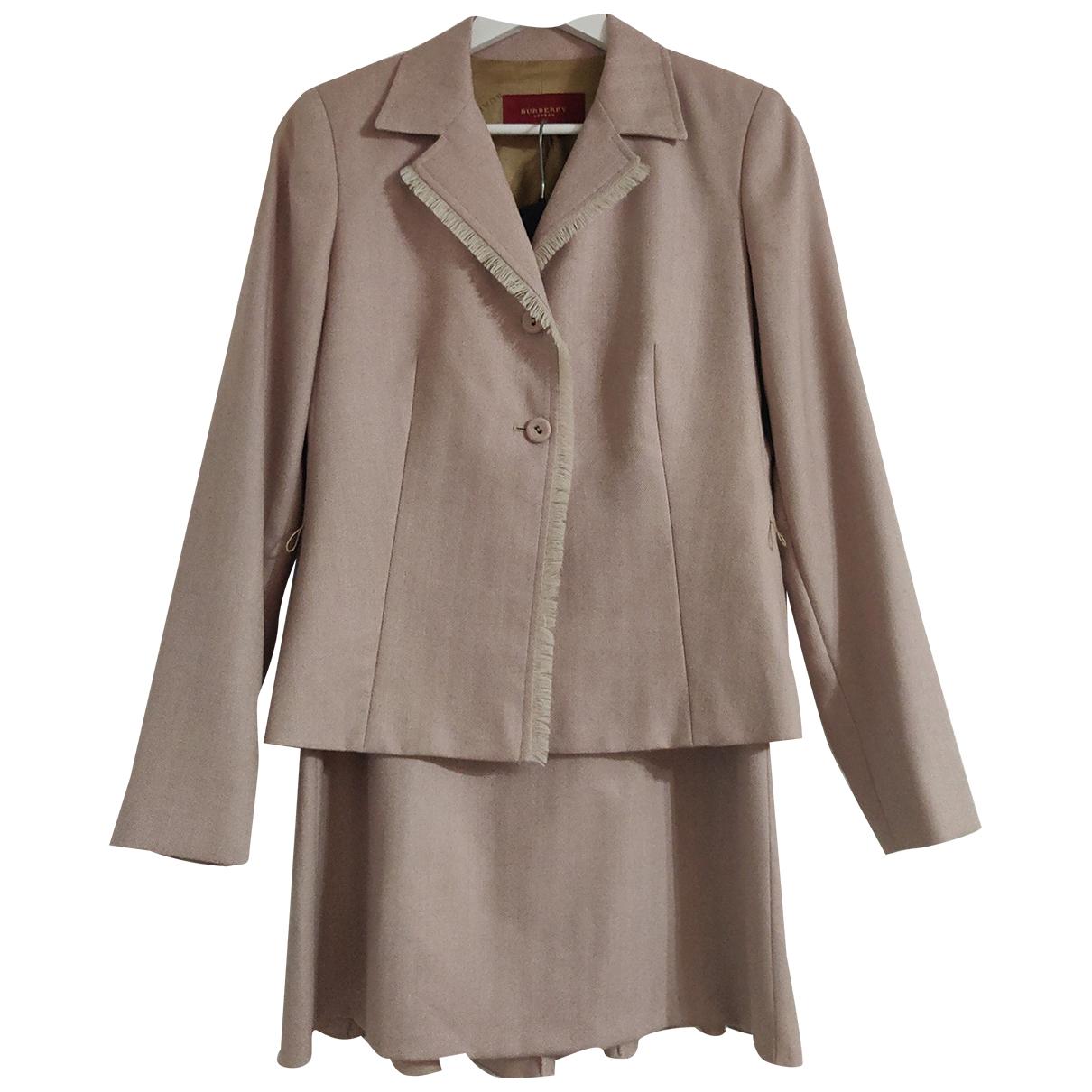 Burberry - Veste   pour femme en laine - rose