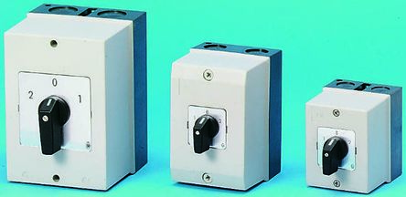 Eaton 4 Pole Enclosed Non Fused Isolator Switch - 10 A dc, 20 A ac Maximum Current, 7.5 kW Power Rating, IP65
