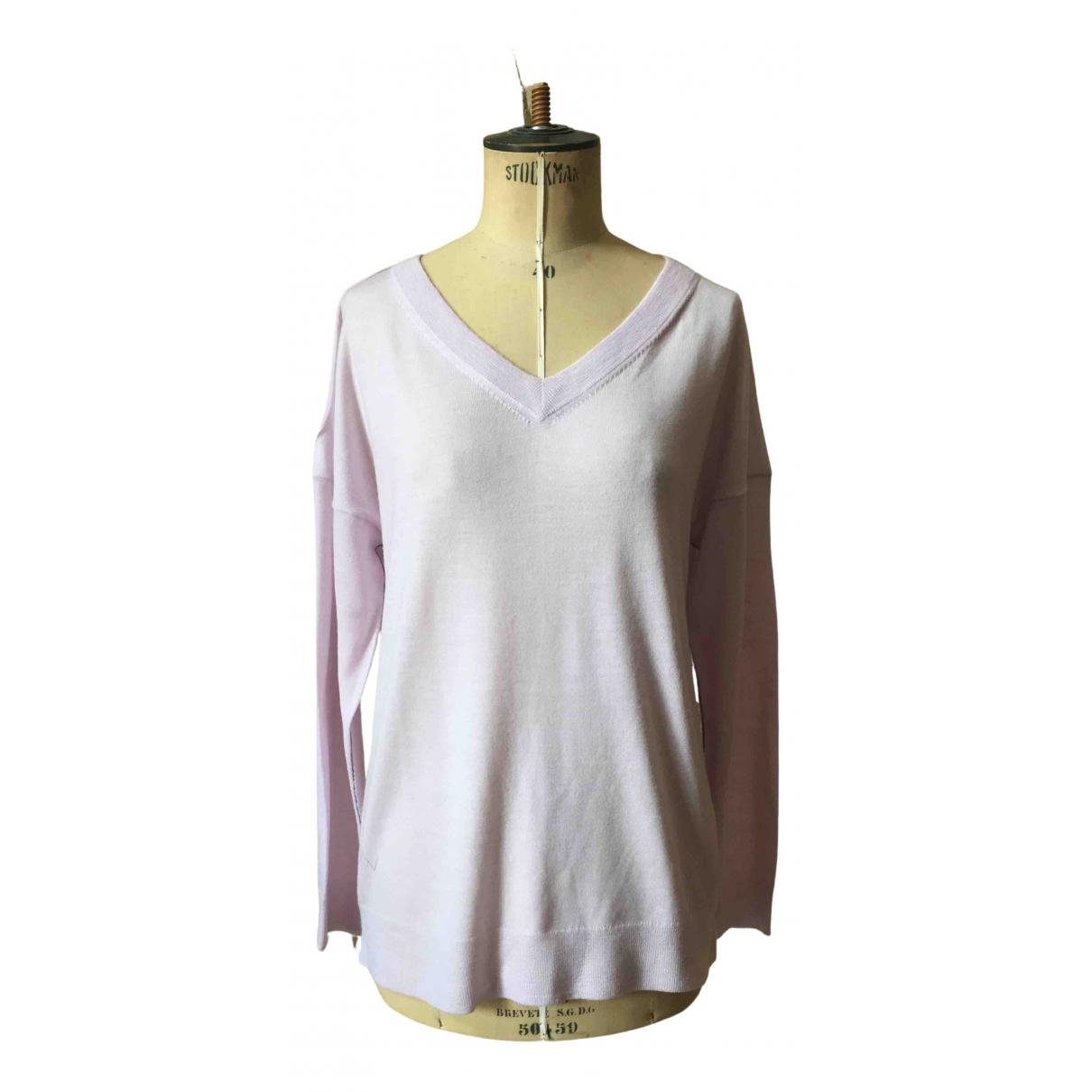 Zadig & Voltaire - Pull Spring Summer 2019 pour femme en laine - rose