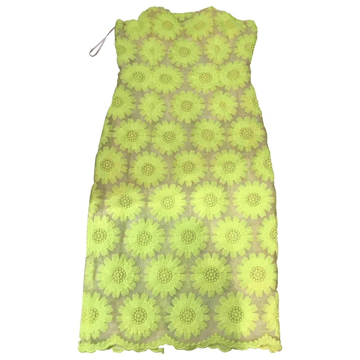 Giambattista Valli \N Yellow dress for Women 42 IT