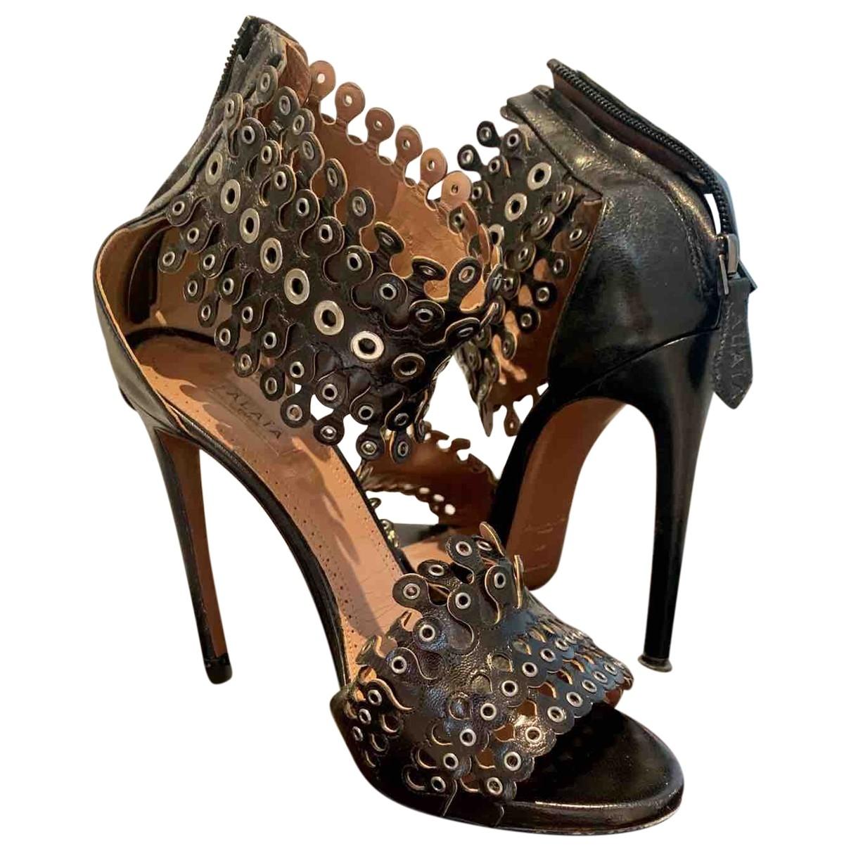 Sandalias de Cuero Alaia