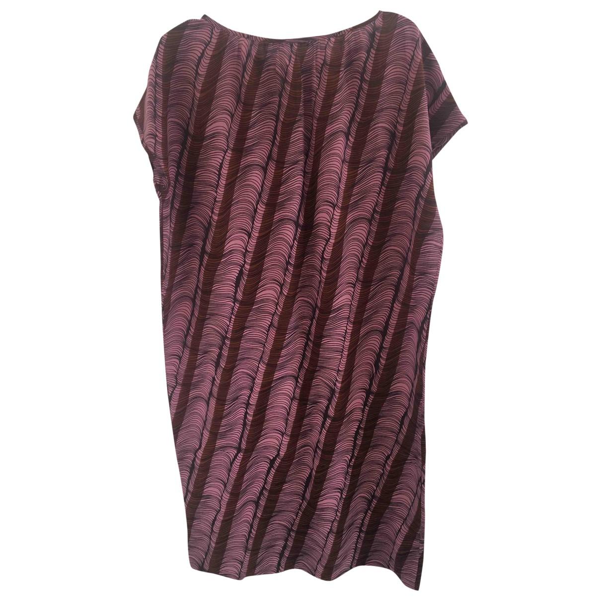 Laura Urbinati - Robe   pour femme en soie - violet