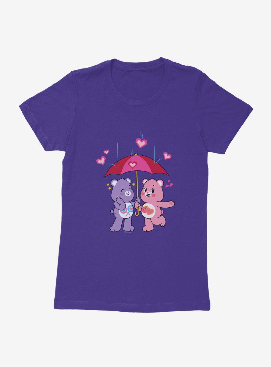 Care Bears Umbrella Love Womens T-Shirt