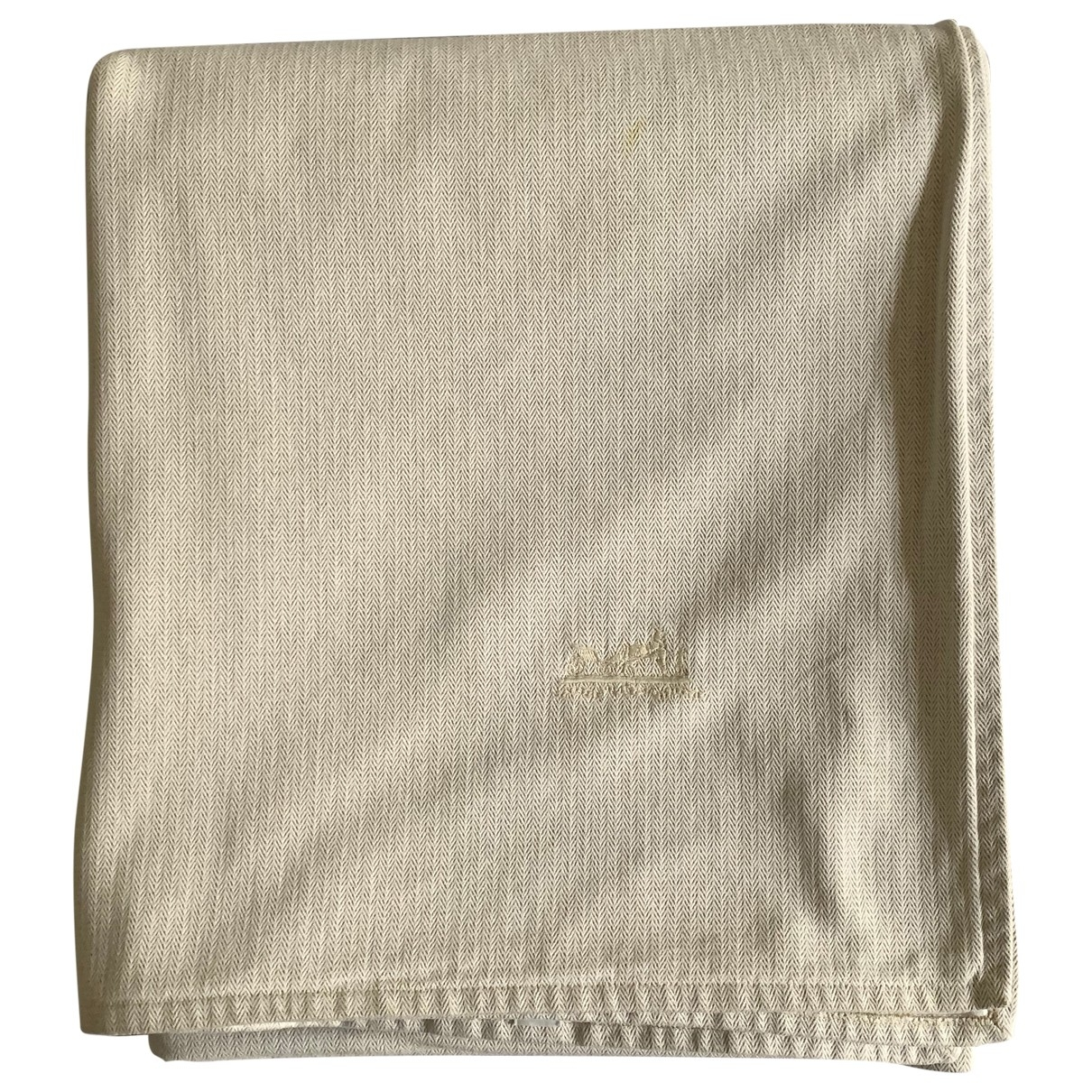 Hermès \N Beige Cotton Textiles for Life & Living \N