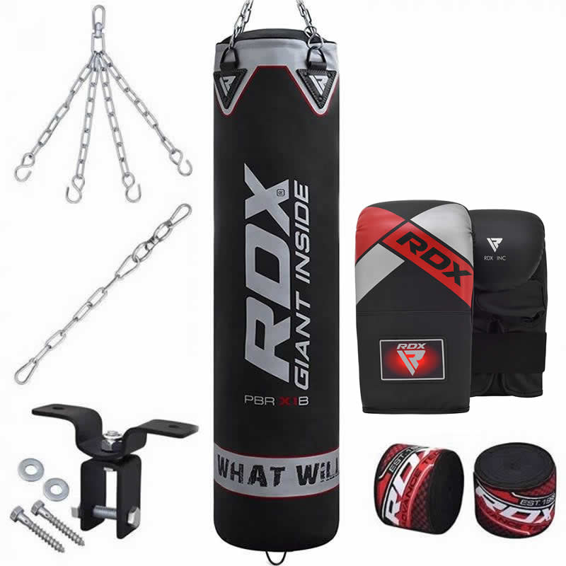 RDX X1 8pc Boxsack and Boxhandschuhe fuer Training Heim gym