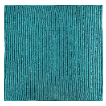 Colonial Mills Nantucket Reversible Braided Indoor/Outdoor Square Rug, One Size , Blue