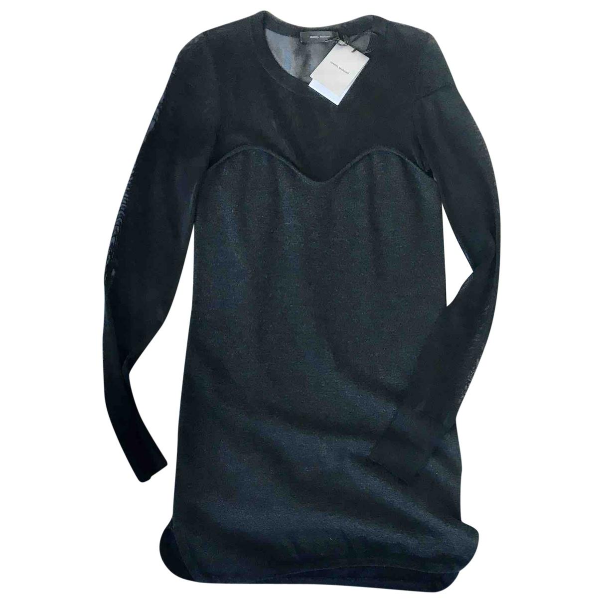 Isabel Marant - Robe   pour femme en laine - gris