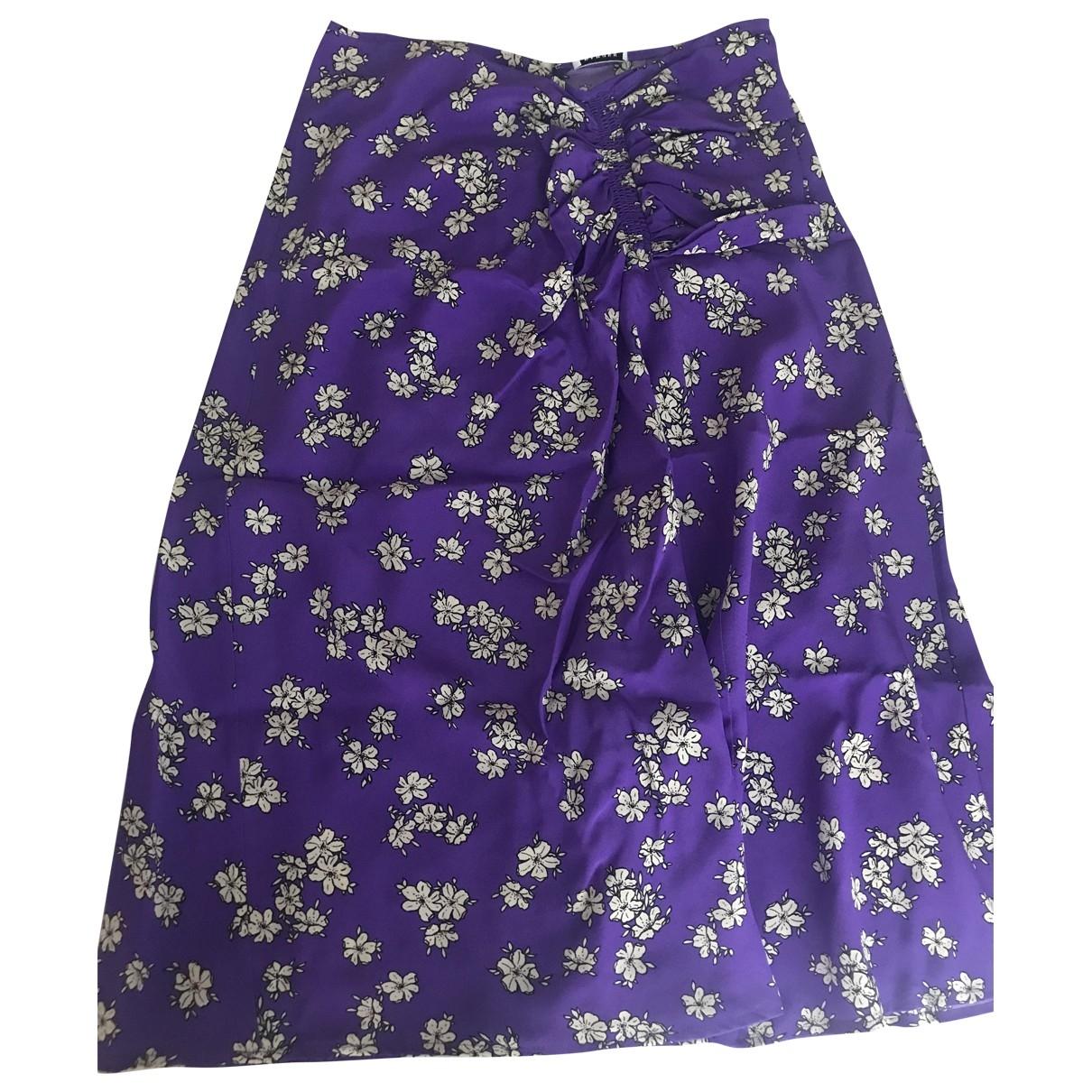 Parosh \N Purple Silk skirt for Women XS International