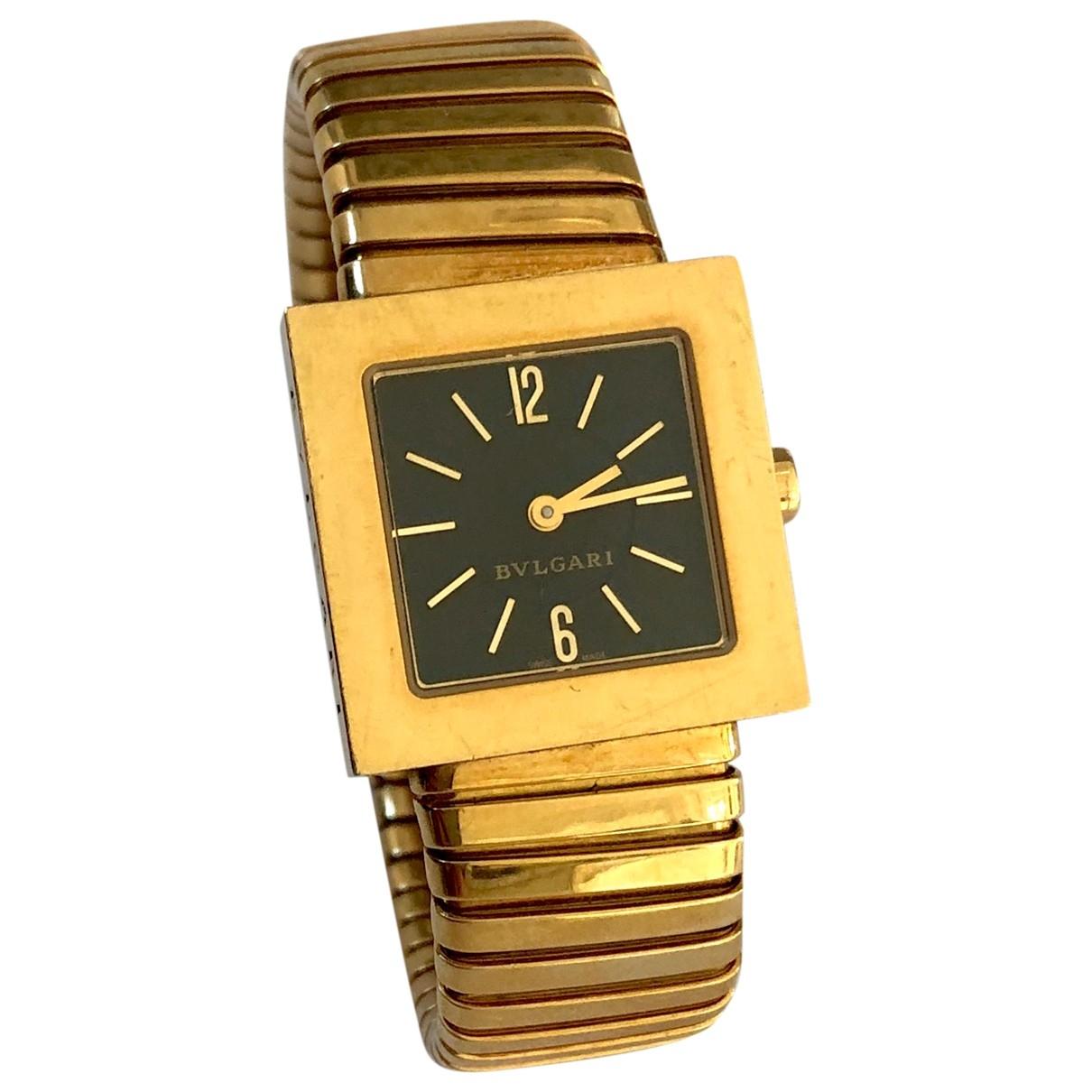 Bvlgari \N Uhr in  Gold Gelbgold