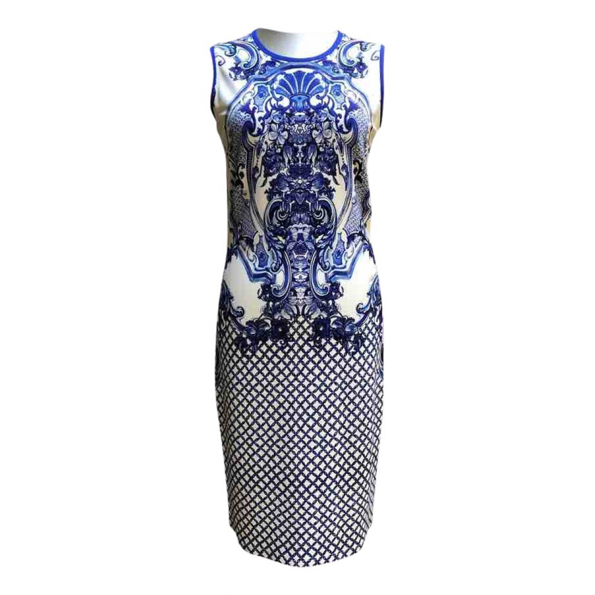 Roberto Cavalli \N Kleid in  Blau Viskose