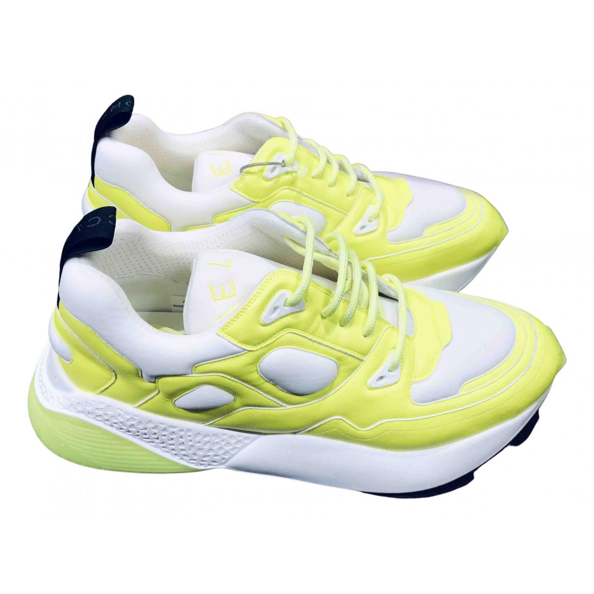 Stella Mccartney \N Sneakers in  Gelb Polyester