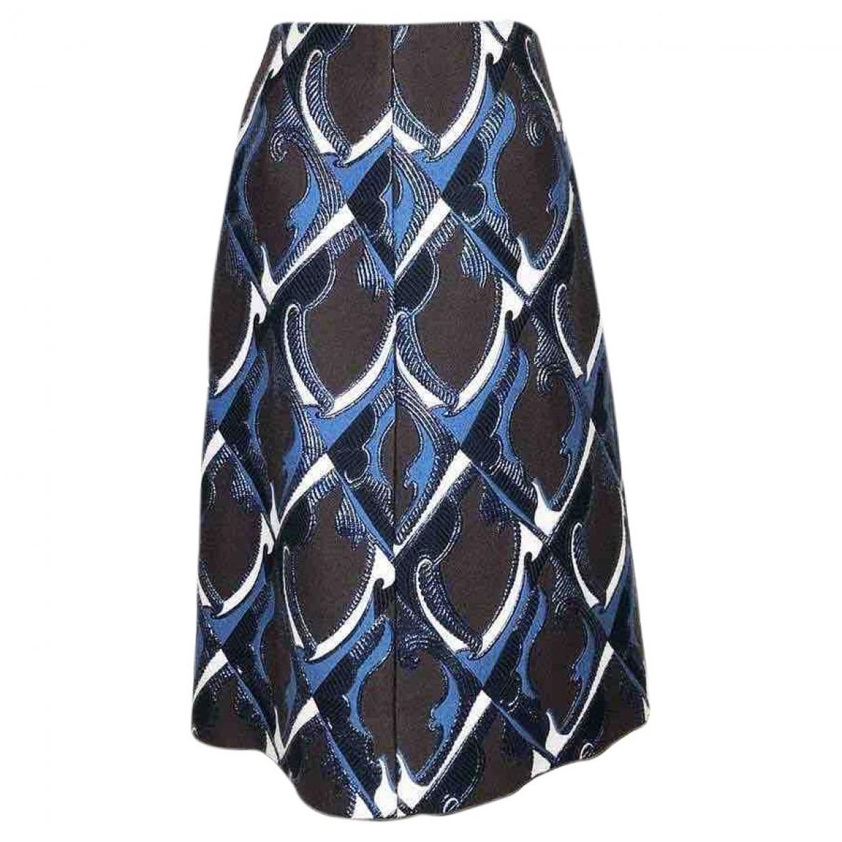 Louis Vuitton - Jupe   pour femme en laine - marron