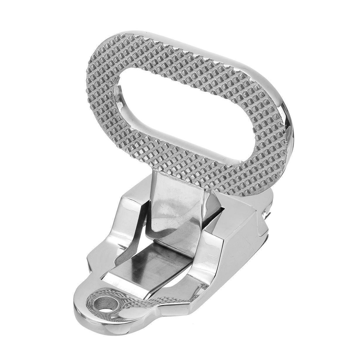 Folding Non-slip 316 Stainless Steel Folding Step Pedal Bracket For Marine Boat Yacht Car