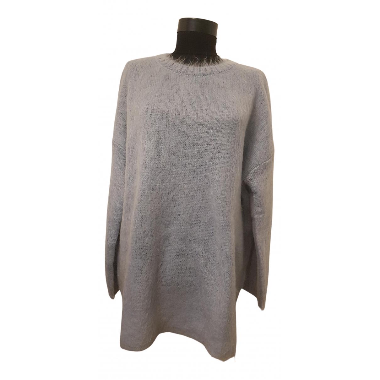 Max Mara Weekend \N Pullover in  Blau Wolle