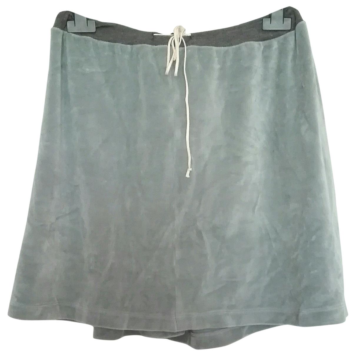 Jean Paul Gaultier \N Grey Cotton skirt for Women 42 IT