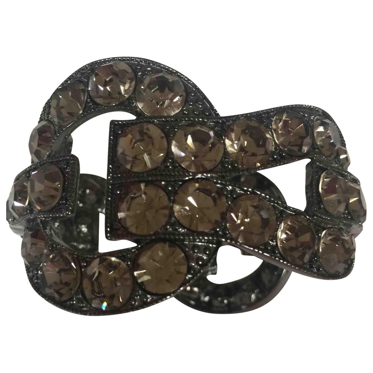 Uterque - Bracelet   pour femme en metal - anthracite