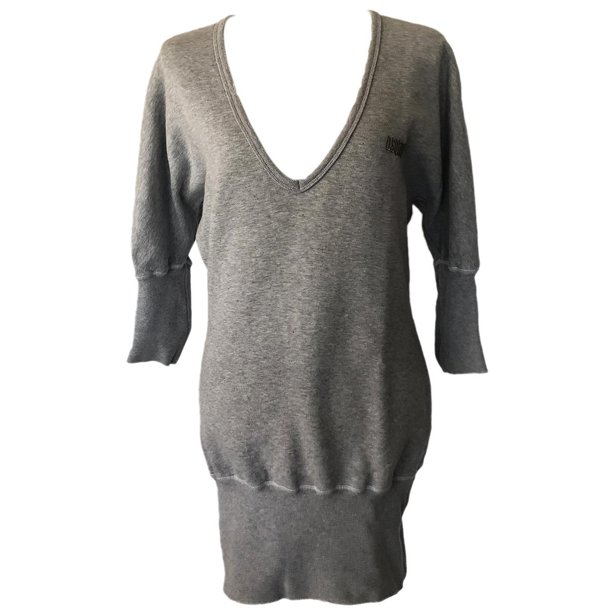 Dsquared2 - Robe   pour femme en coton - gris