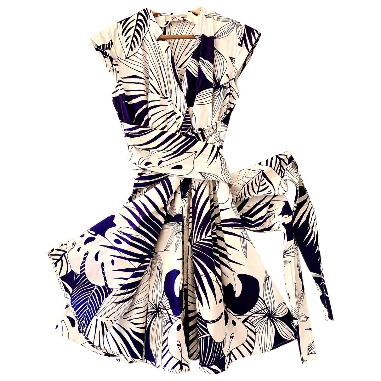Marella - Robe   pour femme en coton - multicolore