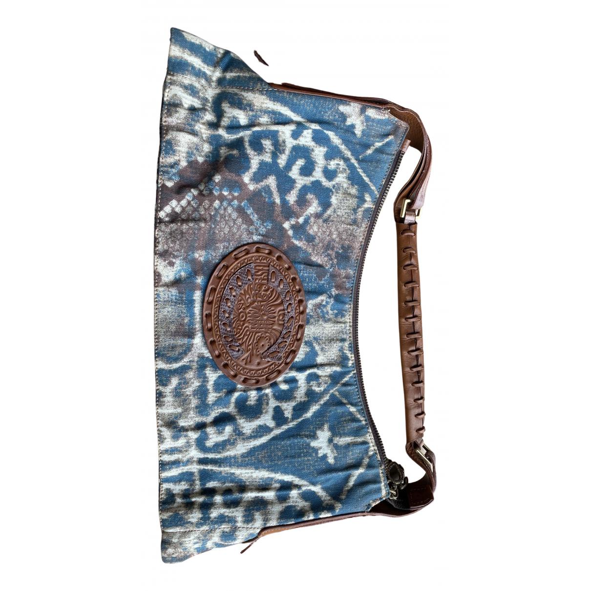 Just Cavalli \N Handtasche in  Blau Denim - Jeans