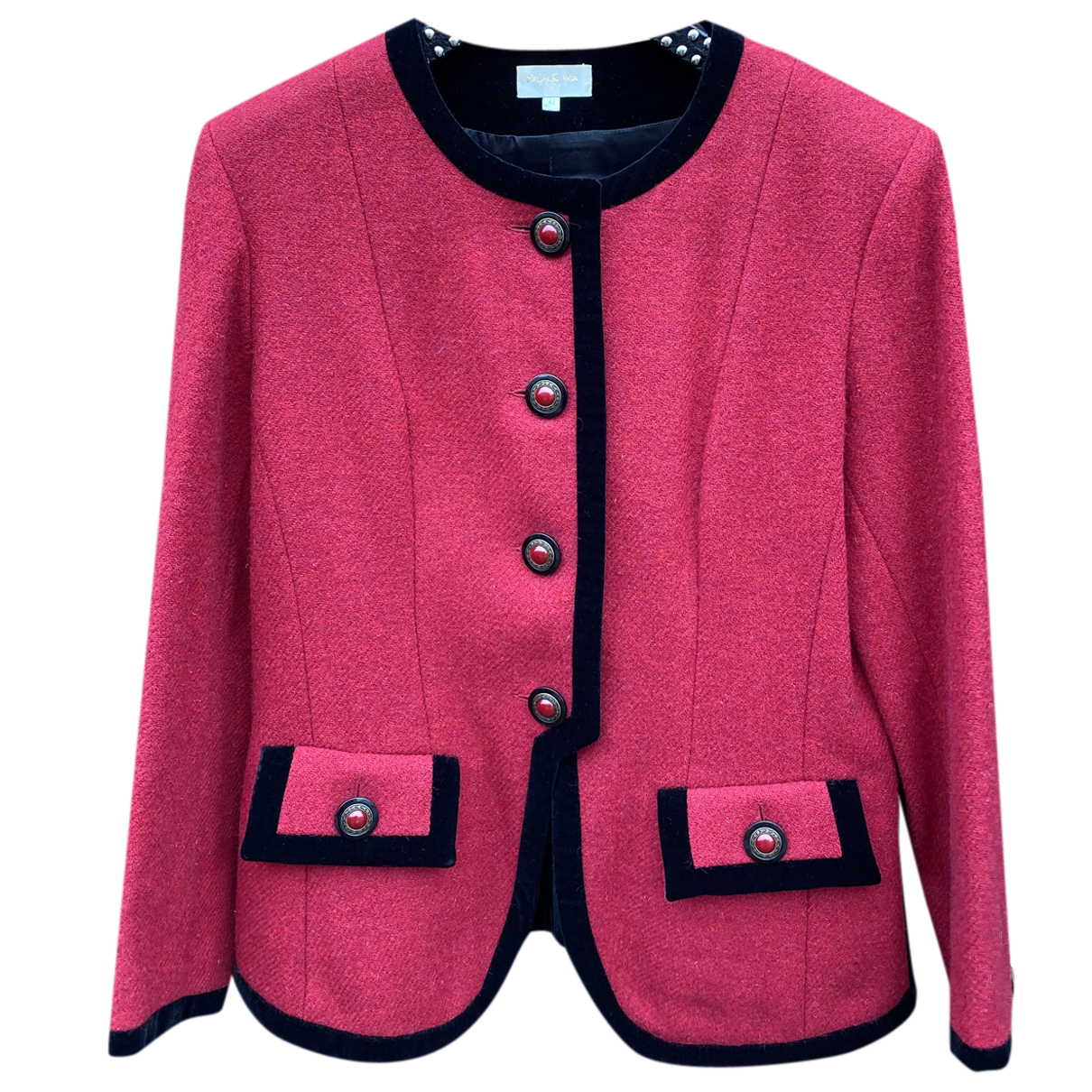 Paule Ka N Pink Wool jacket for Women 42 FR