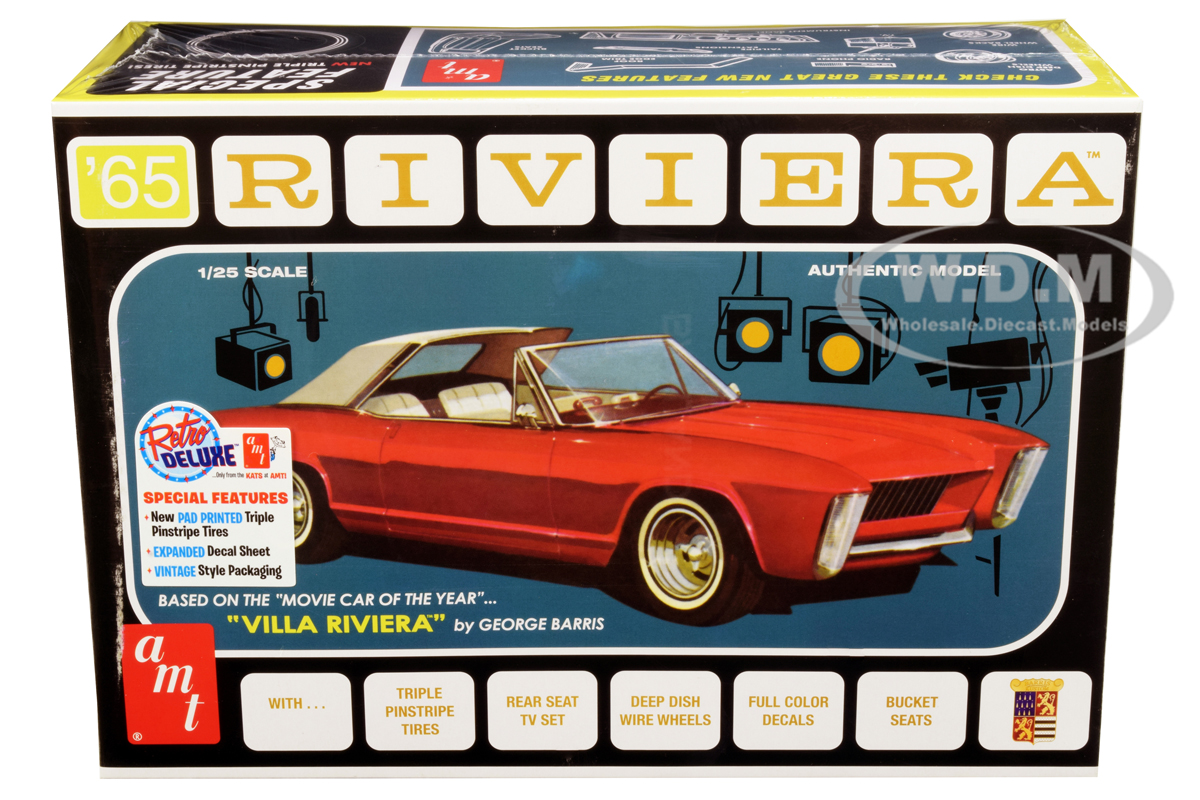Skill 2 Model Kit 1965 Buick Riviera