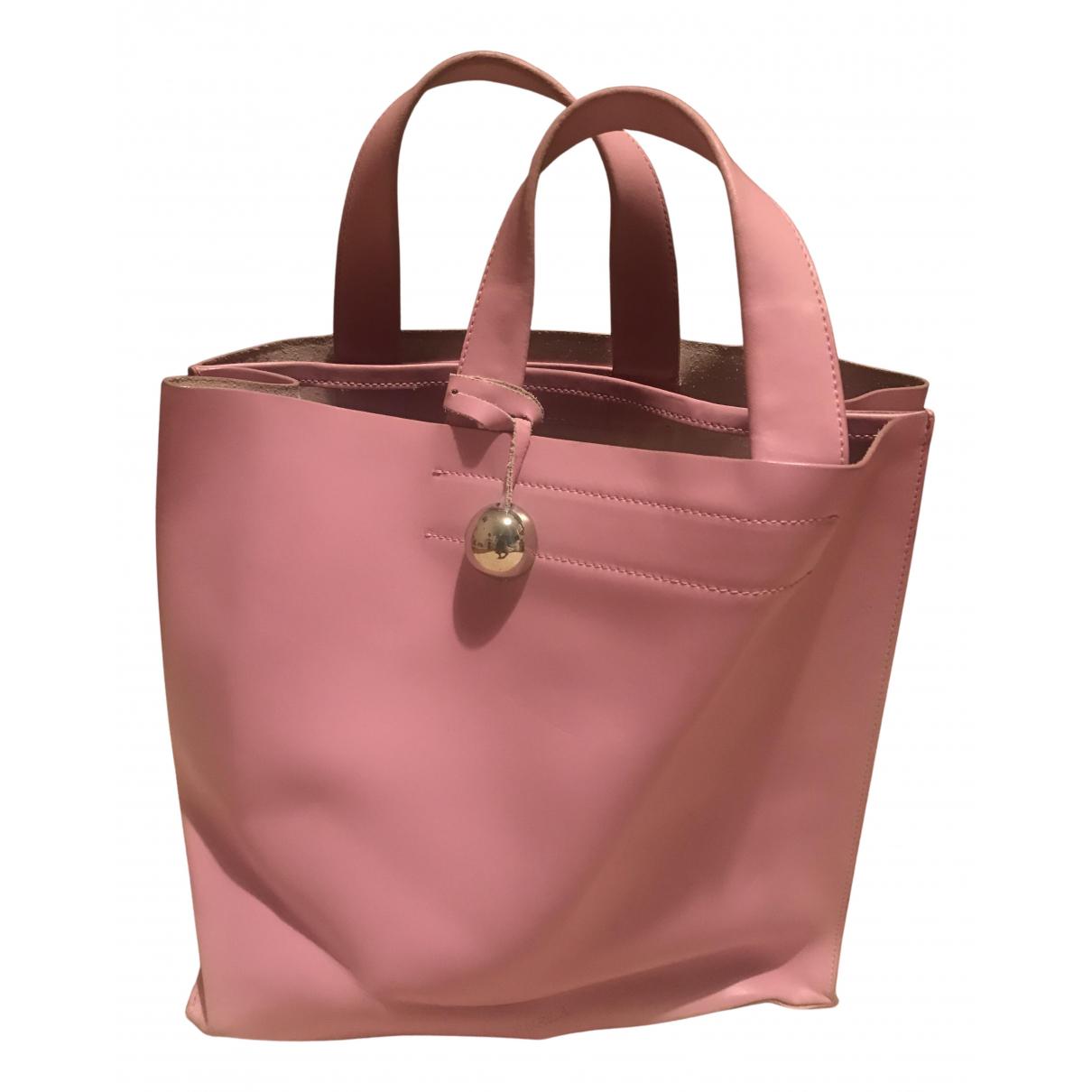 Furla \N Handtasche in  Rosa Leder