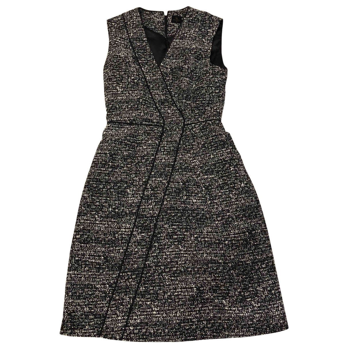 Non Signe / Unsigned \N Kleid in  Grau Polyester