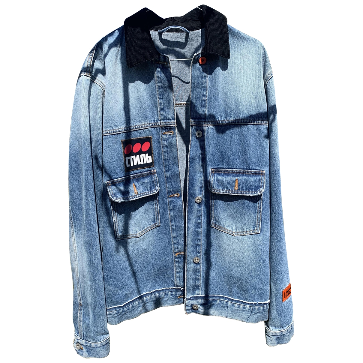 Heron Preston \N Denim - Jeans jacket  for Men L International