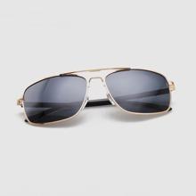 Men Flat Top Aviator Sunglasses