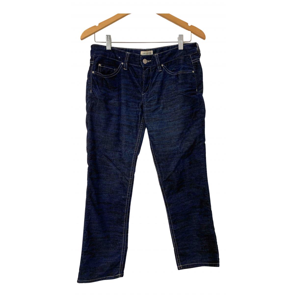 Isabel Marant Etoile N Blue Cotton Jeans for Women 38 FR