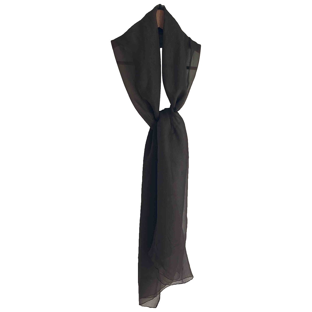 Max Mara \N Green Silk scarf for Women \N