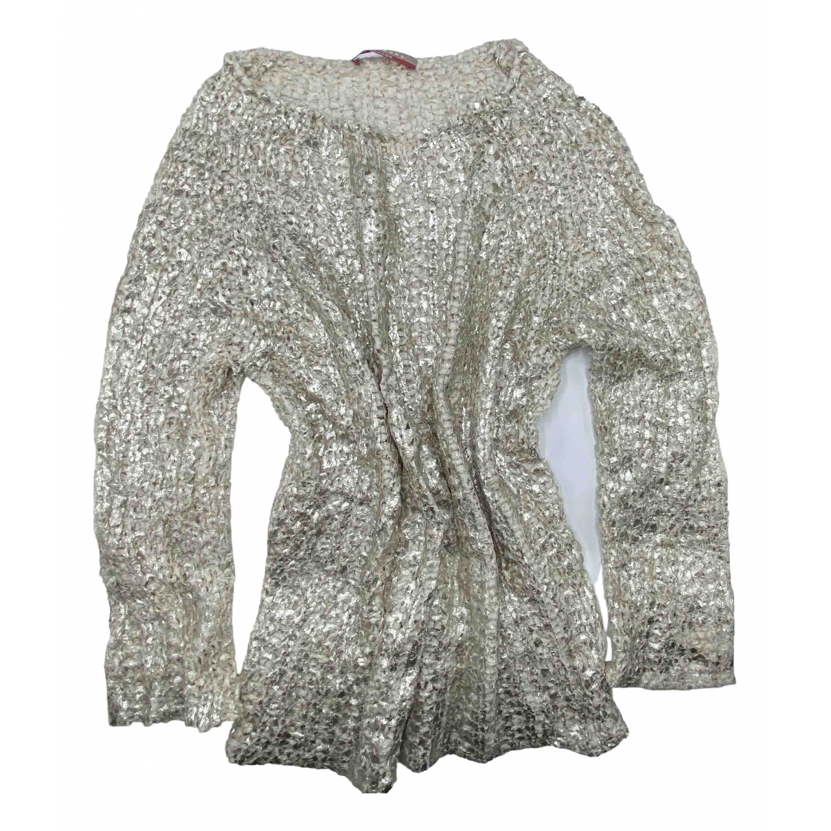 Stefanel \N Gold Cotton Knitwear for Women S International