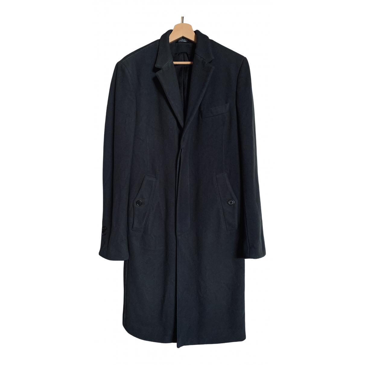 Dolce & Gabbana - Manteau   pour homme en laine - kaki